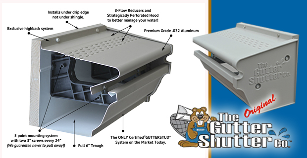 Why Choose The Exterior Solutions Gutter System Shutter