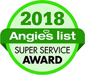 2018 Angie's List Super Service Award for Replacement Windows & Exterior Solutions Near Lexington, KY